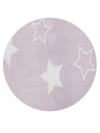 MANTA VELOUR STAR ROSA 0,90x1,10 LAÇO BEBÊ 220809