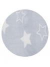MANTA VELOUR STAR AZUL 0,90x1,10 LAÇO BEBÊ 220807