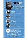 CADEIRA AUTO SPIN 360 ISOFIX 0 A 36KG BLACK BURIGOTTO IXAU5126PRC42