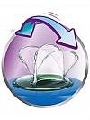 COPO EASY SIP C/BICO DE SILICONE 260ML MENINA SCF553/03 AVENT