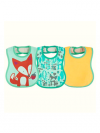 KIT 3 BABADORES EASY MEAL MENINA 6M+ CHICCO 00016301100000