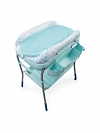 BANHEIRA CUDDLE BUBBLE DUSTY GREEN CHICCO 04079348190000 COM TROCADOR E ALTURA AJUSTAVEL