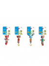 BRINQUEDO COM CLIP WIND CHIME THOMAS TINY LOVE IMP01614