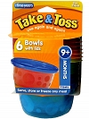 KIT 6 POTES COM TAMPA 236ML THE FIRST YEARS F1032