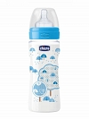 MAMADEIRA WELLB PP SILICONE 330ML (4M+) BOY CHICCO 00020635200610