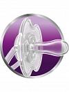 CHUPETA FREEFLOW NOTURNA AVENT 1 UNIDADE AZUL ( 6-18 MESES) SCF181/14